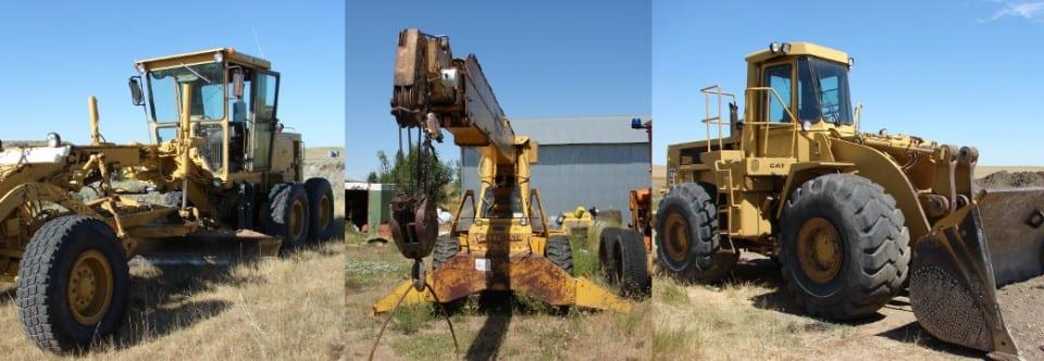 Equipment & Construction Retirement Auction (10.4.14)