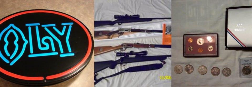 Large Coin & Gun Auction (12.13.14)