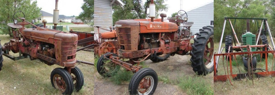 Antique Tractor Auction (10.3.15)
